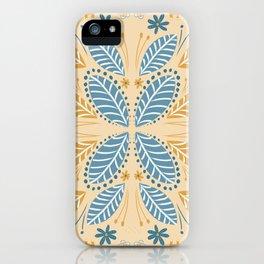 Leaves - Cream iPhone Case