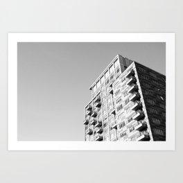 Condo Building Art Print