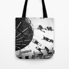At the Fair: The Swings Tote Bag