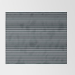 Magic Dust Muted Purple PPG13-24 Horizontal Stripes Pattern 2 on Night Watch PPG1145-7 Throw Blanket