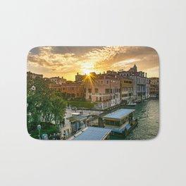 Venice at Sunset Bath Mat