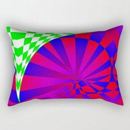 Folded Dimensions Rectangular Pillow