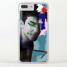 Graphic Designer Clear iPhone Case