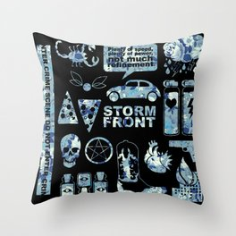 Novel Pictures - Storm Front  Throw Pillow