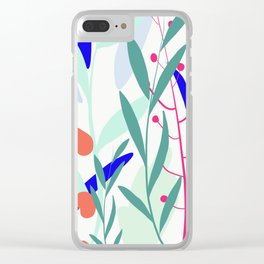 Pattern no.1 Clear iPhone Case