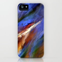 The Color of Wind Digital Painting iPhone Case