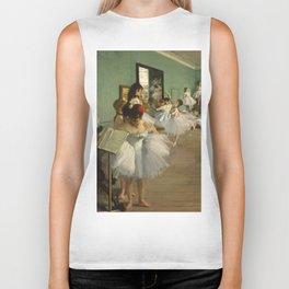 """Edgar Degas """"The dance class"""" Biker Tank"""