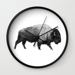 Bison, Buffalo Wall Clock