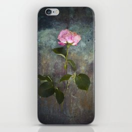 Single Wilted Rose iPhone Skin