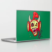 evil dead Laptop & iPad Skins featuring Evil Dead Po by Artistic Dyslexia