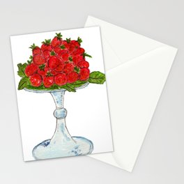 Strawberries On Pedestal Stationery Cards