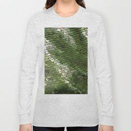 Green spangle Long Sleeve T-shirt