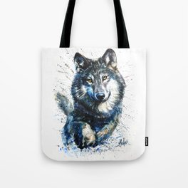 Gray Wolf - Forest King Tote Bag