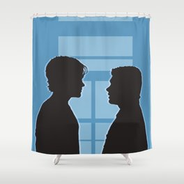 Pilot Supernatural (Silhouette Collection) Shower Curtain