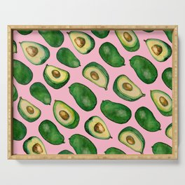 avocado pink Serving Tray