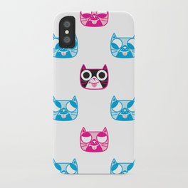We are watching you. MEOW x 5 iPhone Case