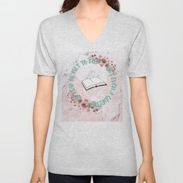 TO READ OR NOT TO READ Unisex V-Neck