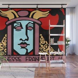 Jugendstil Einfuhrmesse Frankfurt re Wall Mural