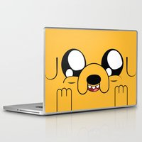 jake Laptop & iPad Skins featuring Adventure - Jake by Alessandro Aru