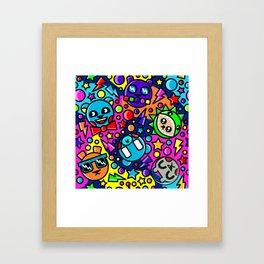 Bear Picnic Framed Art Print