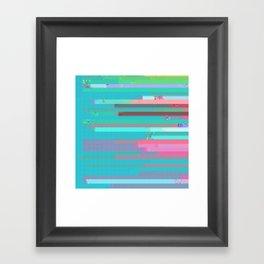 little bit closer Framed Art Print