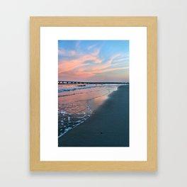 Shore Colors Framed Art Print