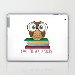 Owl Tell You A Story... Laptop & iPad Skin