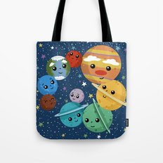 Out Of This World Cuteness (dark) Tote Bag