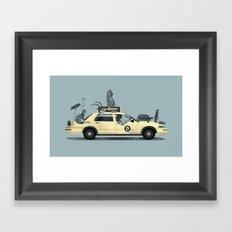 1-800-TAXI-DERMY Framed Art Print