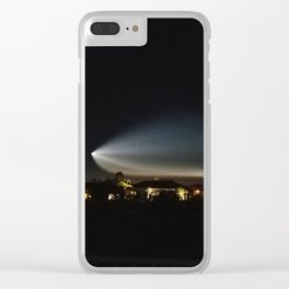 SpaceX rocket launch 12.22.17 Clear iPhone Case