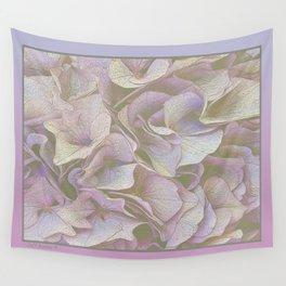 FADED HYDRANGEA CLOSE UP Wall Tapestry