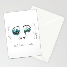 Don't dream it Stationery Cards