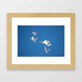 2014 Heritage Flight Framed Art Print