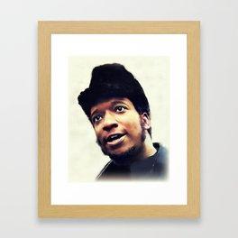 Fred Hampton, Civil Rights Framed Art Print