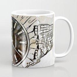 Bland and White Fancy Watch 101 Coffee Mug
