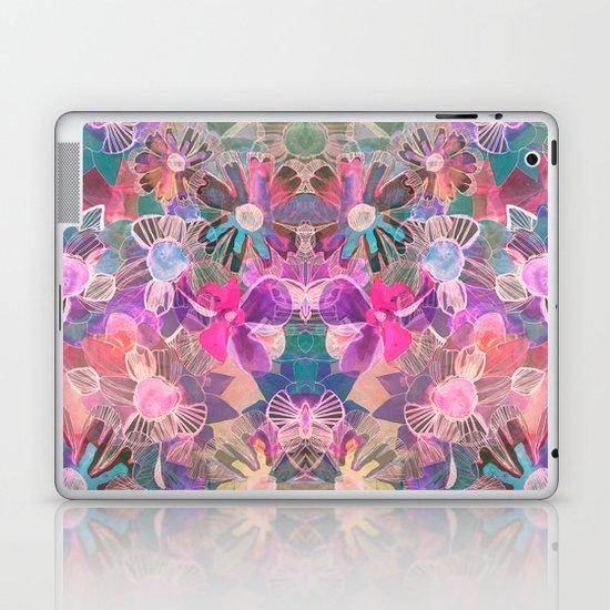 Marbled Garden  Laptop & iPad Skin
