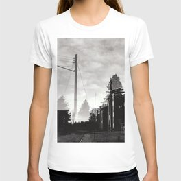 Ghostly Lines T-shirt