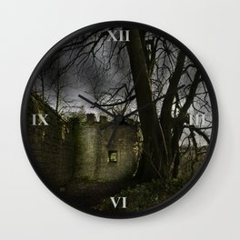 Castles in my Mind Wall Clock
