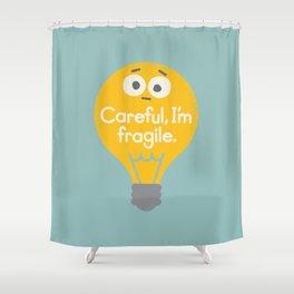 Light Sensitive Shower Curtain