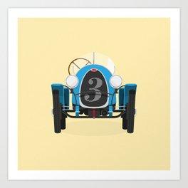 Bugatti Type 13 Art Print