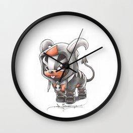 Facing certain Doom Wall Clock