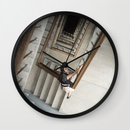 Into the Abyss Wall Clock