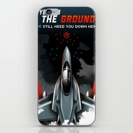 Eyes on the Ground iPhone Skin