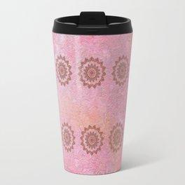 Knotted Floral Travel Mug