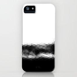 Halftone 1 Print iPhone Case
