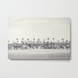 Winter in Santa Barbara  Metal Print