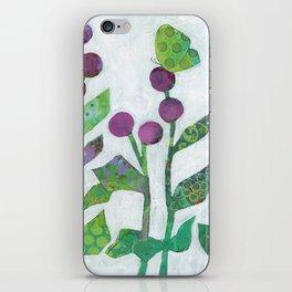 Bollblommor II iPhone Skin
