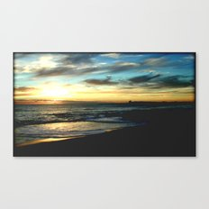 Sunrise on the South Coast of Australia Canvas Print