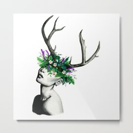 Sprout Imagination Metal Print