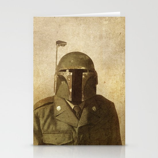 General Fettson  - square format Stationery Cards